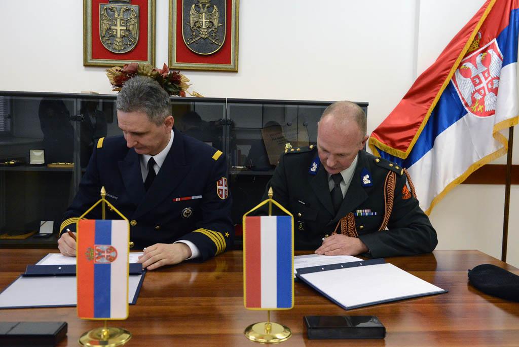 Потписан План билатералне војне сарадње са Холандијом