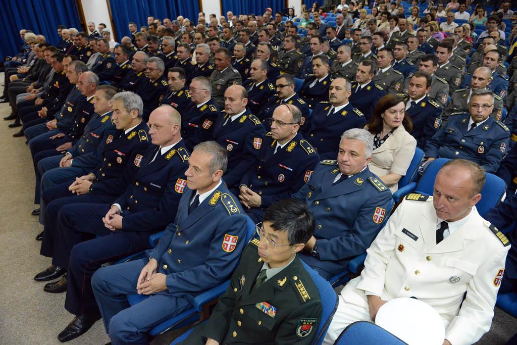 Завршетак школовања официра 59 класе Командно штабног усaвршавања