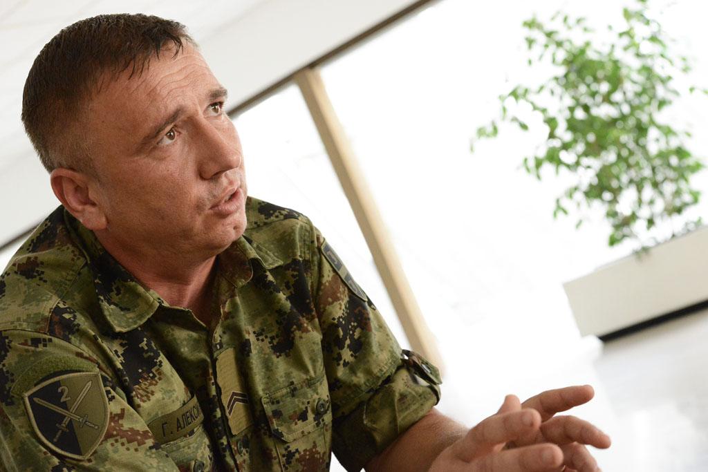 Подвиг десетара Горана Алексића