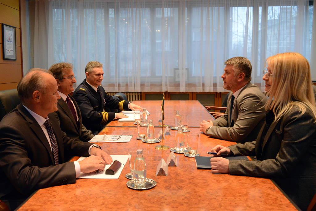 Састанак министра Родића са директором Центра за безбедносну сарадњу RACVIAC