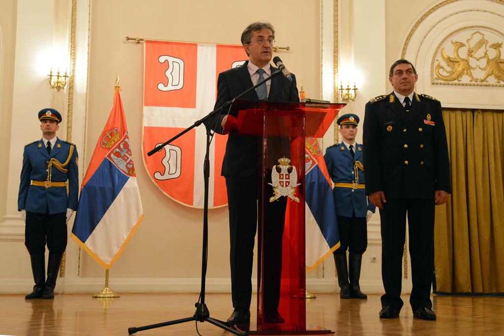 Свечани пријем поводом Дана Војске Србије