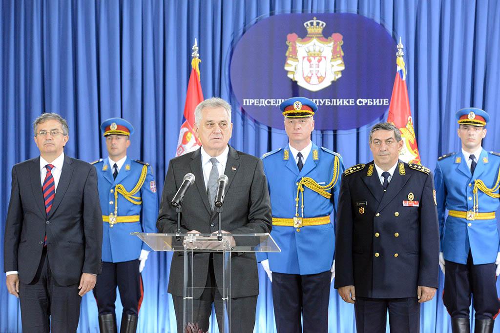 Пријем код председника Републике поводом Дана Војске