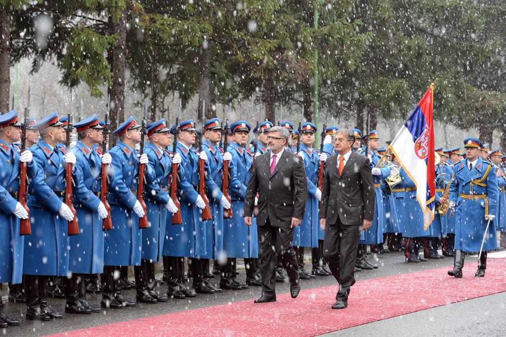 Посета министра одбране Републике Словеније