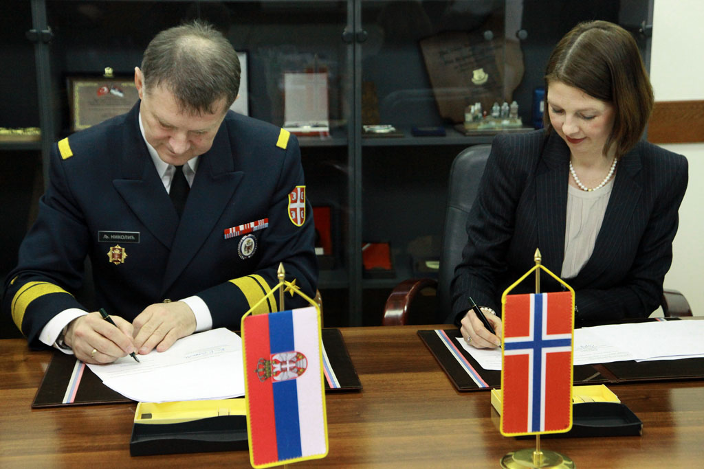 Cooperation with Norway