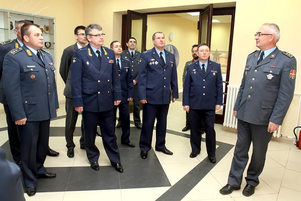 Посета делегације војног ваздухопловства Руске Федерације
