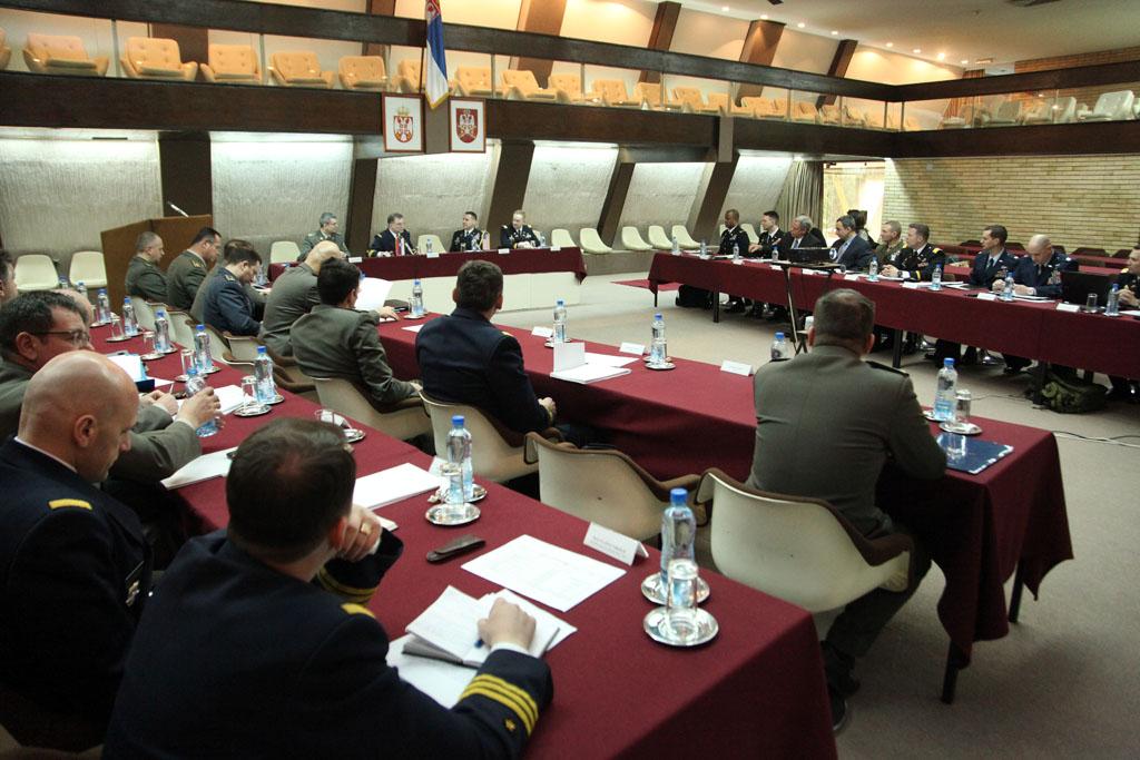 Главна конференција за планирање активности војне сарадње Србије и САД