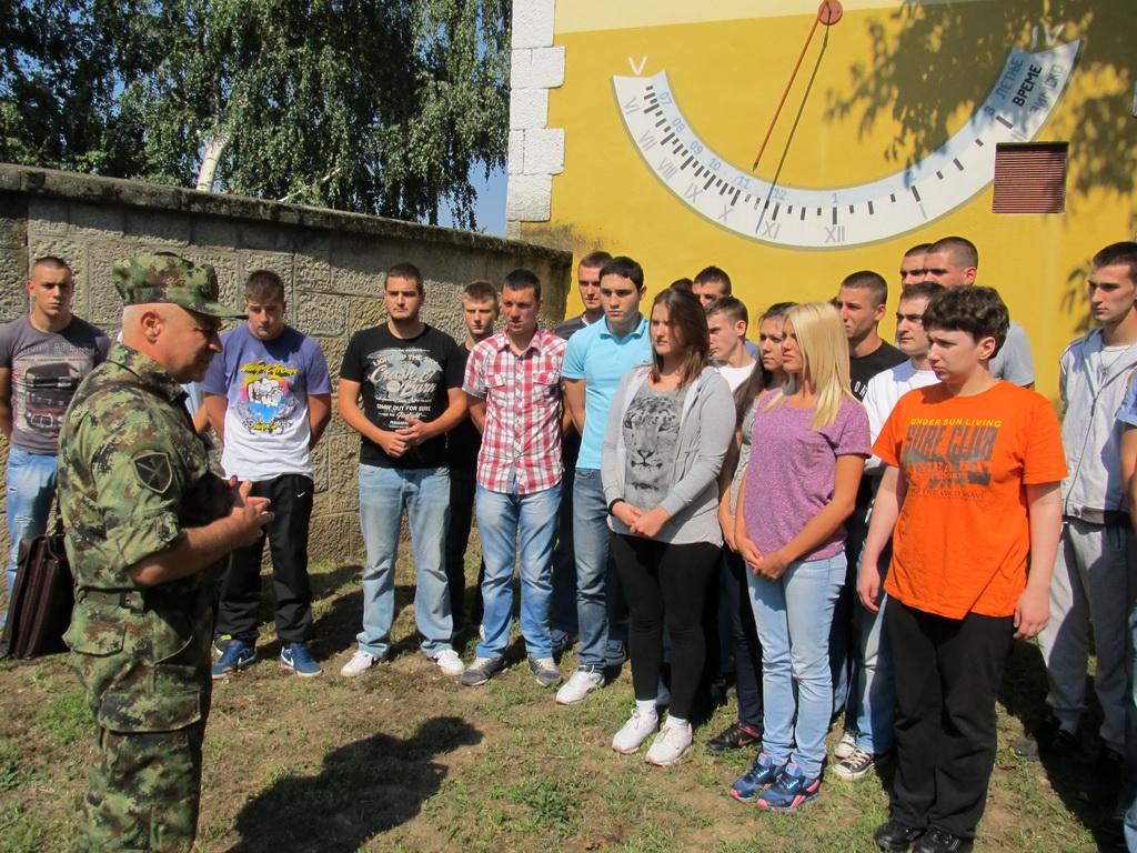 Примљена нова генерација војника на добровољно служење војног рока