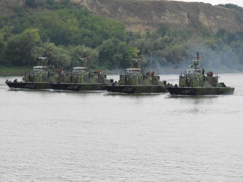 Вежба речних јединица Војске Србије и Оружаних снага Мађарске