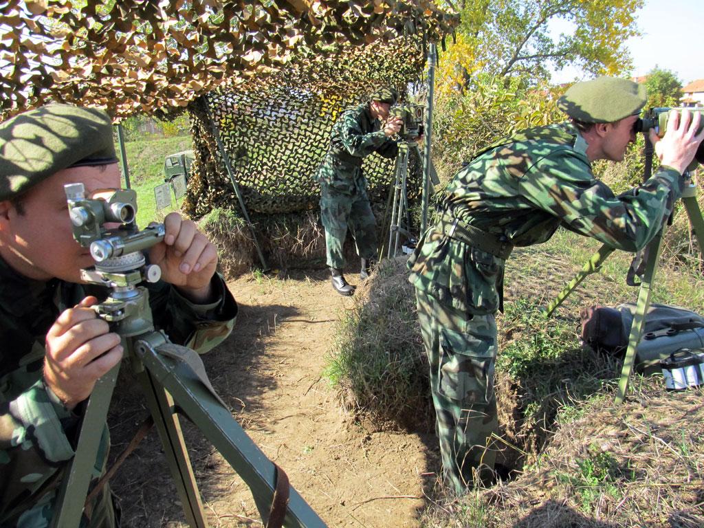 Обука резервног састава Прве бригаде