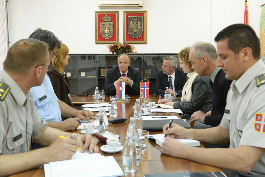 Помоћник министра Јовановић примио норвешку делегацију