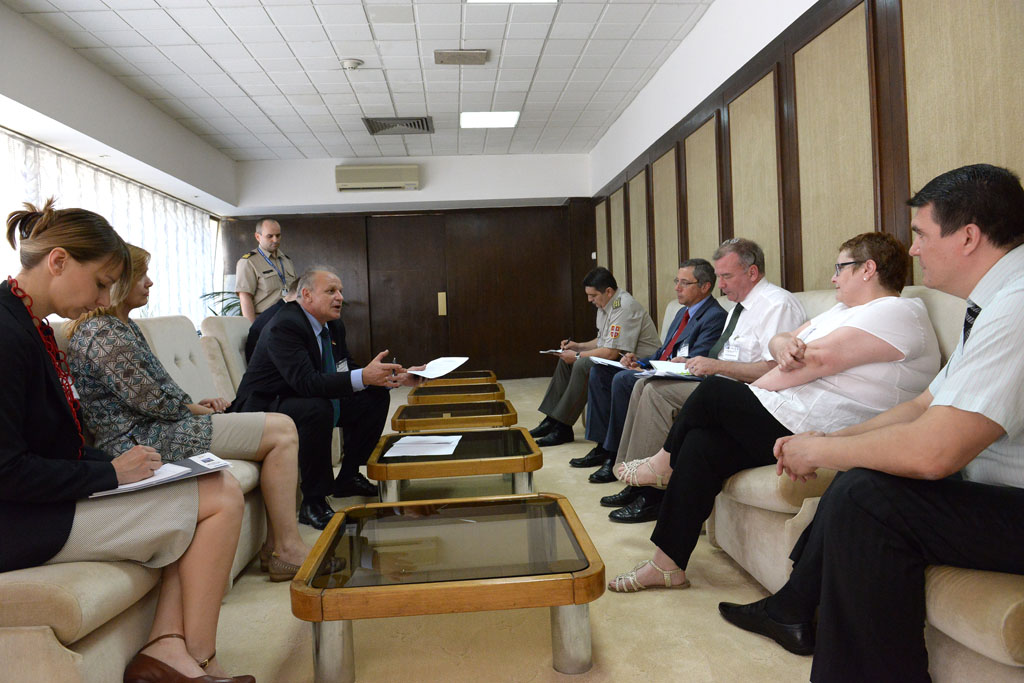 Joint analysis for taking measures to build integrity in MoD and SAF together with NATO expert team