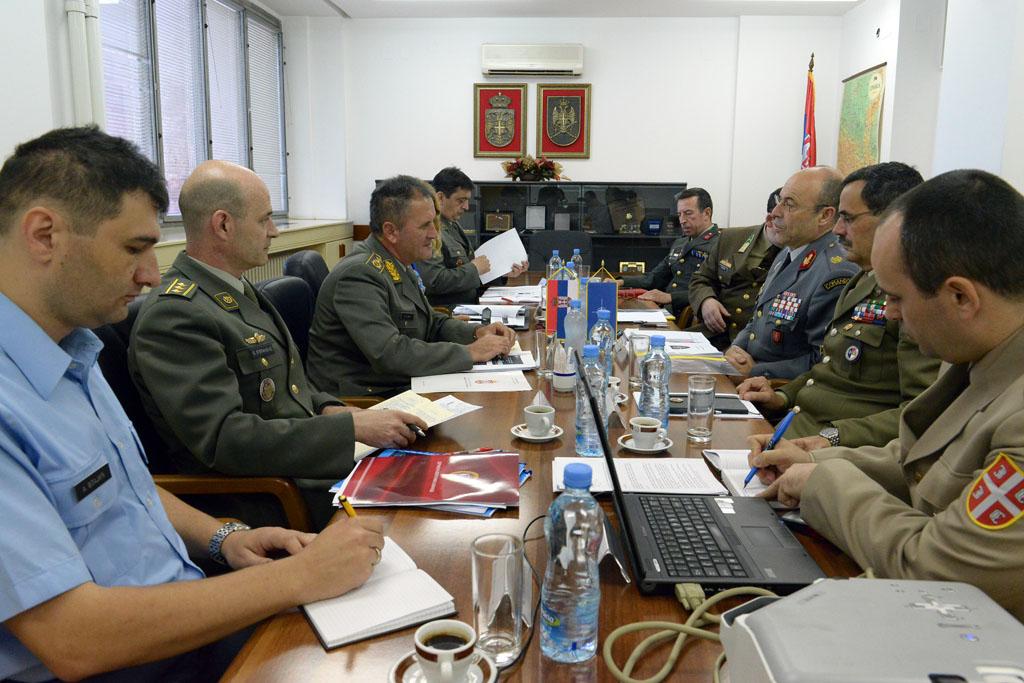 Састанак са делегацијом НАТО