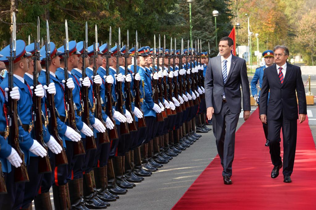 Састанак министара одбране Србије и Хрватске