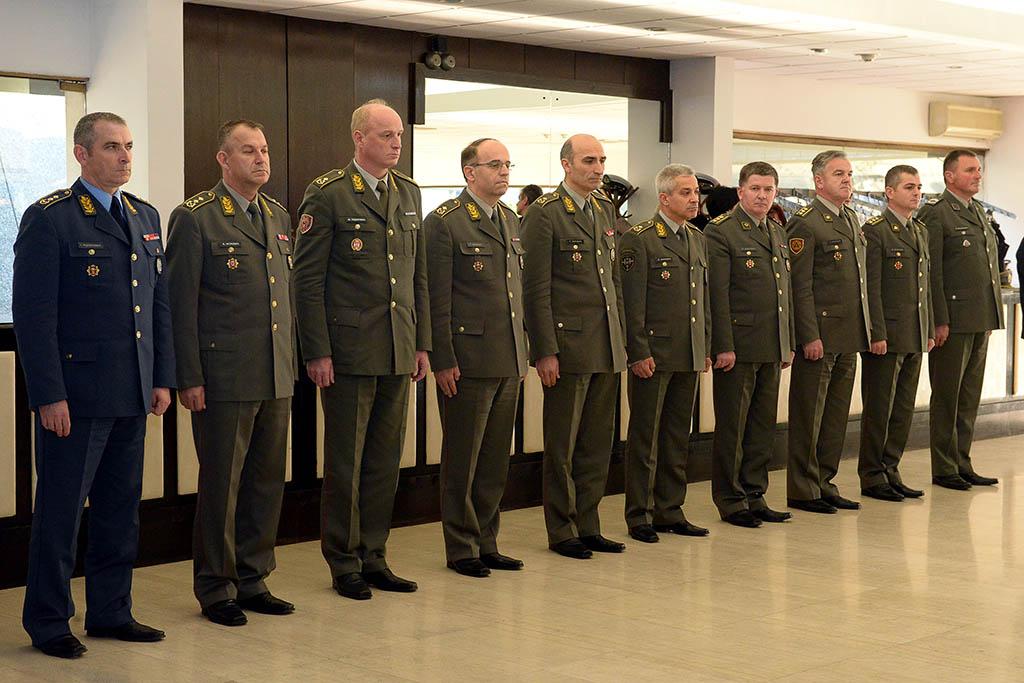 Dodeljene vojne spomen medalje za izuzetne rezultate u vojnoj službi