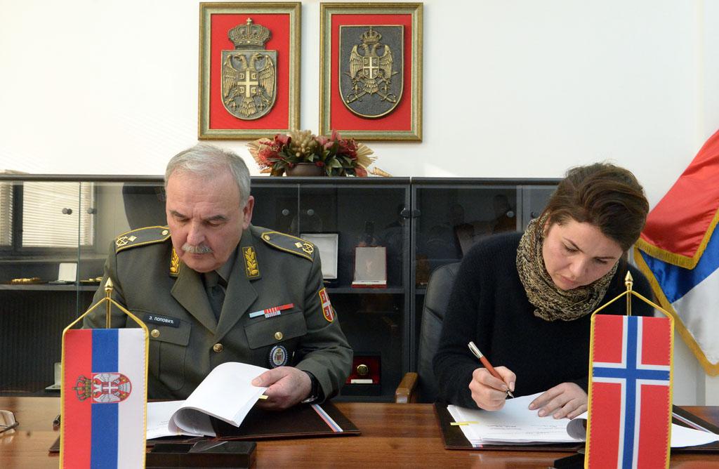 Потписан Протокол о донацији Краљевине Норвешке