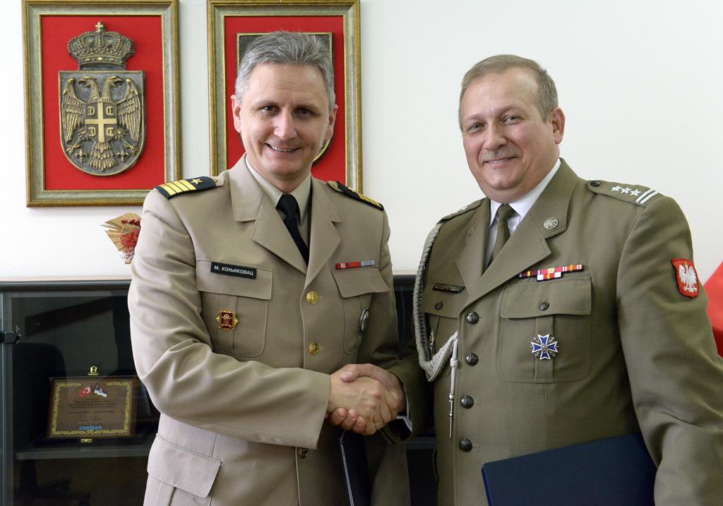Унапређење сарадње са Пољском