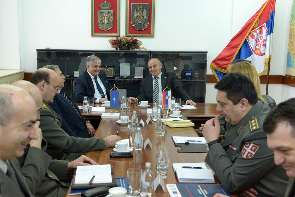 Посета директора Агенције за стандардизацију НАТО