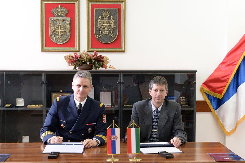 Војна сарадња са Мађарском