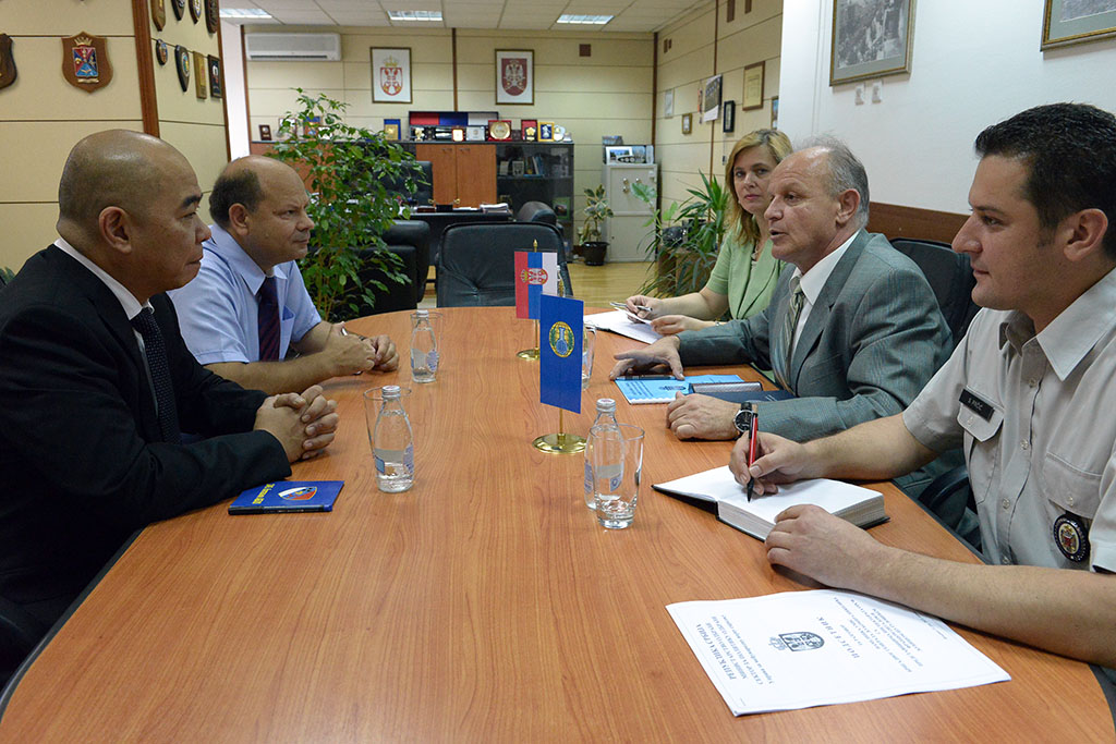 Cooperation of Srerbia with OPCW