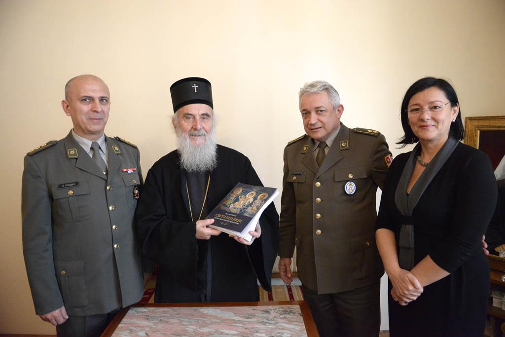 Патријарх Иринеј примио представнике Медија центра