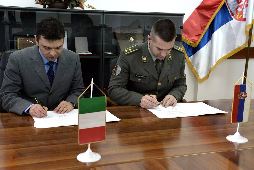 Донација Републике Италије Центру за усавршавање кадрова АБХО
