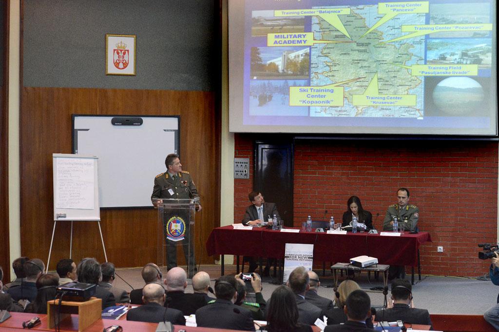 Отворена мултинационална едукативна радионица на Војној академији