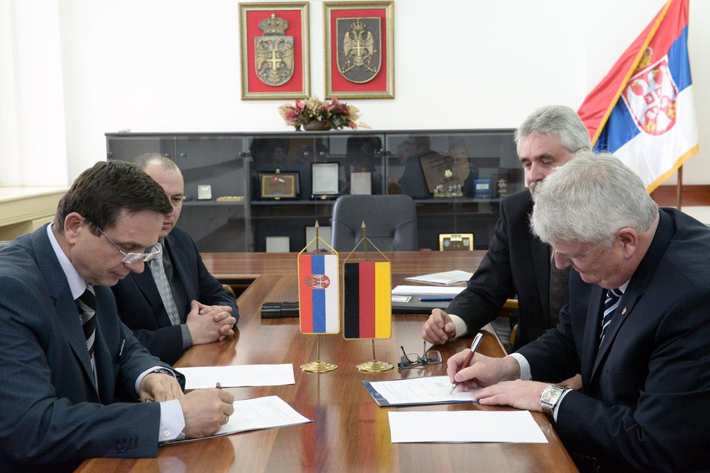 Сарадња верификационих центара Србије и Немачке