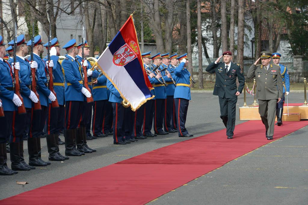 Susret načelnika generalštabova Srbije i Slovenije