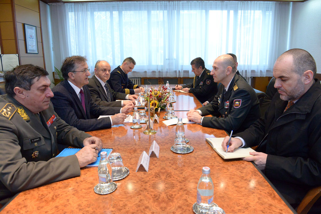 Ministar odbrane razgovarao sa načelnikom Generalštaba Slovenačke vojske