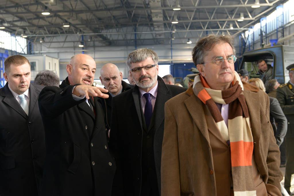 Ministri Rodić i Jakič obišli fabriku u Velikoj Plani