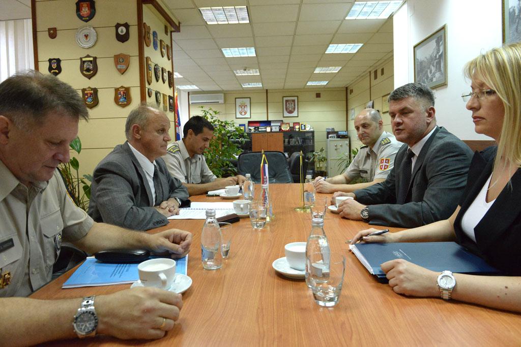 Помоћник министра Јовановић примио делегацију Центра за безбедносну сарадњу RACVIAC