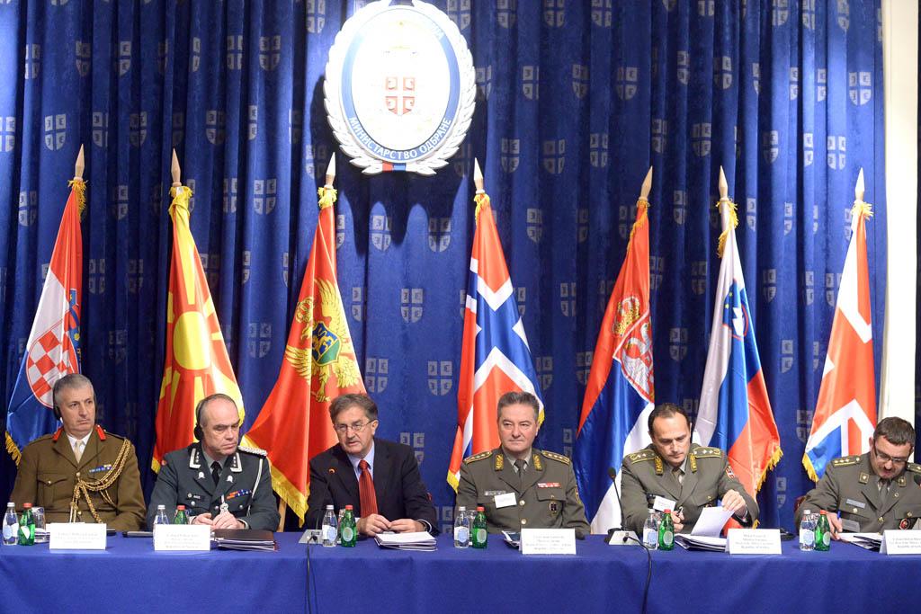 Sastanak načelnika vojnoobrazovnih ustanova Jugoistočne Evrope