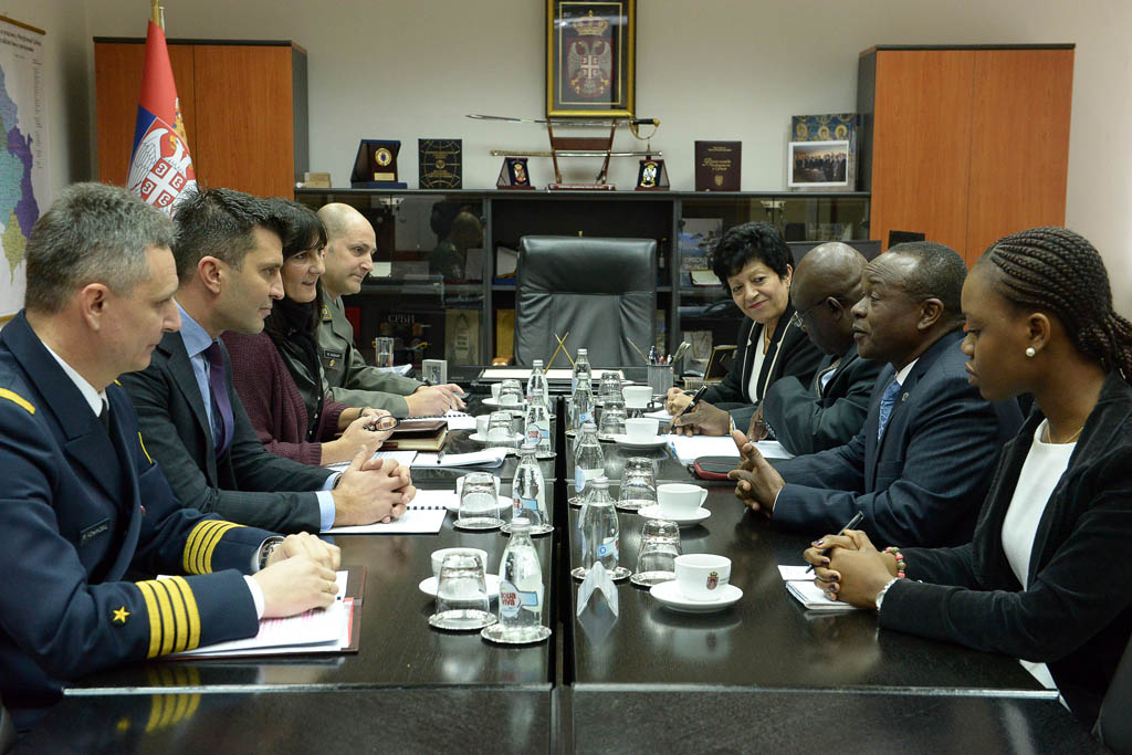 Meeting with the deputy chairman of the African Union Commission