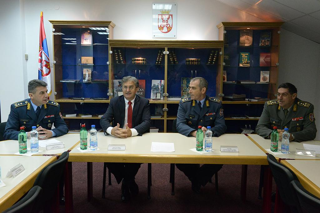 Примопредаја дужности директора Инспектората одбране