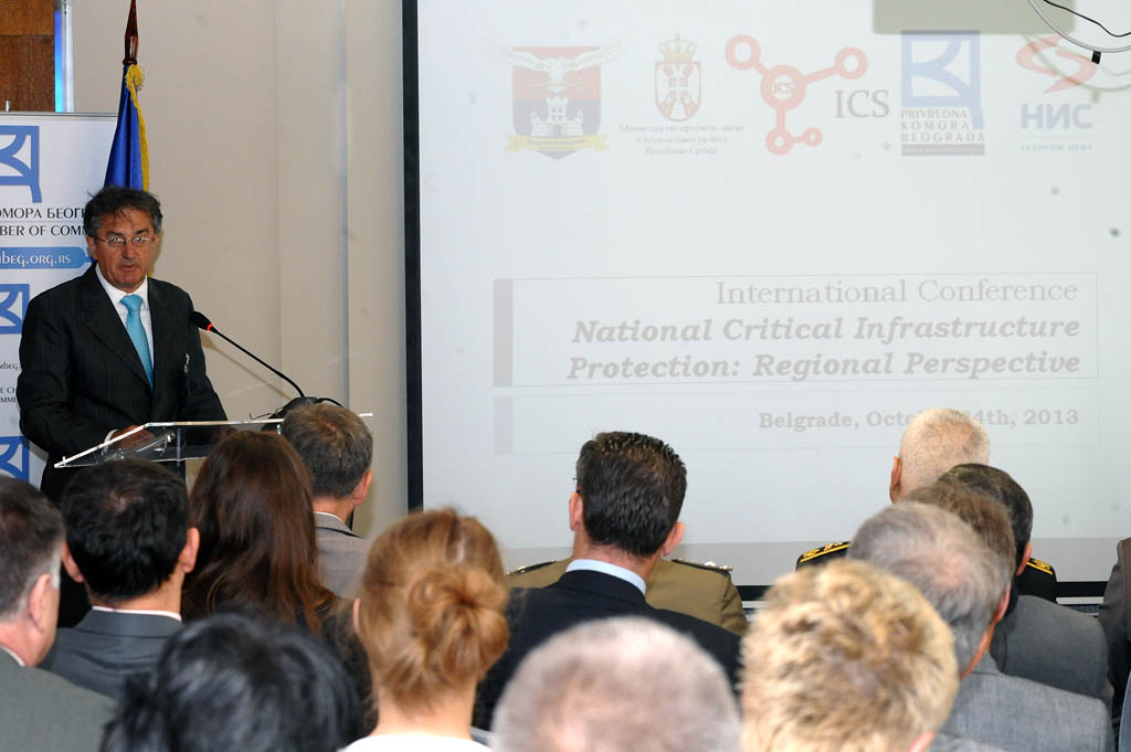 Minister Rodic opens Critical Infrastructure Protection Conference