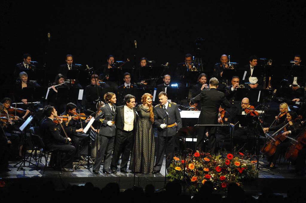 Novogodišnji gala koncert Umetničkog ansambla Stanislav Binički