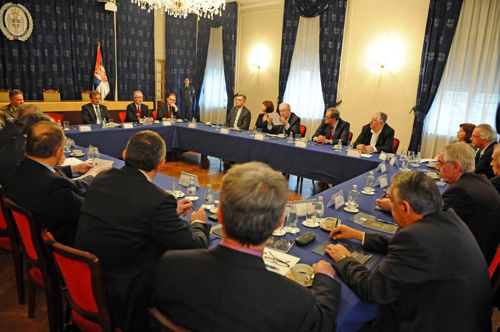 Седница Ректорског савета Конференције универзитета Србијe