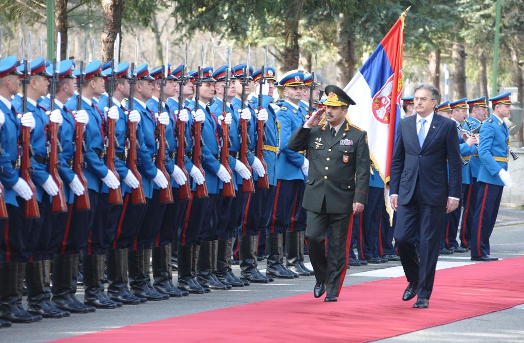 Сусрет министара одбране Србије и Азербејџана