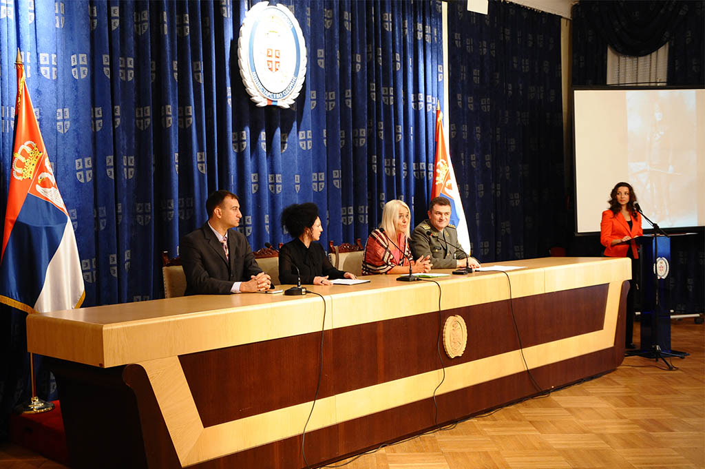 Press conference on the project dedicated to Milunka Savic