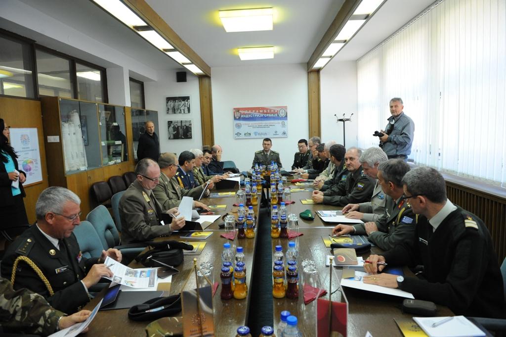 Страни војни представници у посети фабрикама одбрамбене индустрије и ВУ Тара