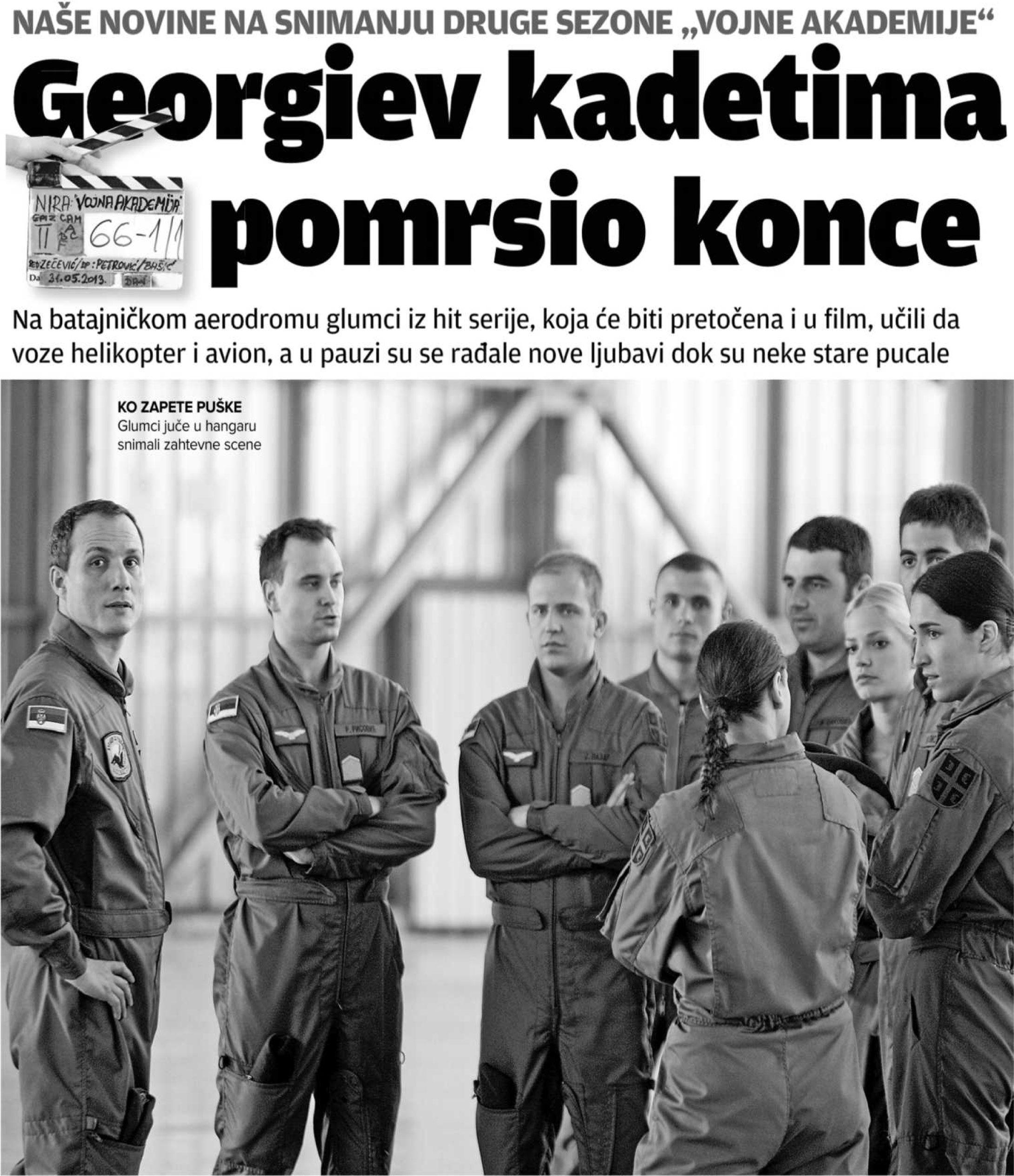 Георгиев кадетима помрсио конце