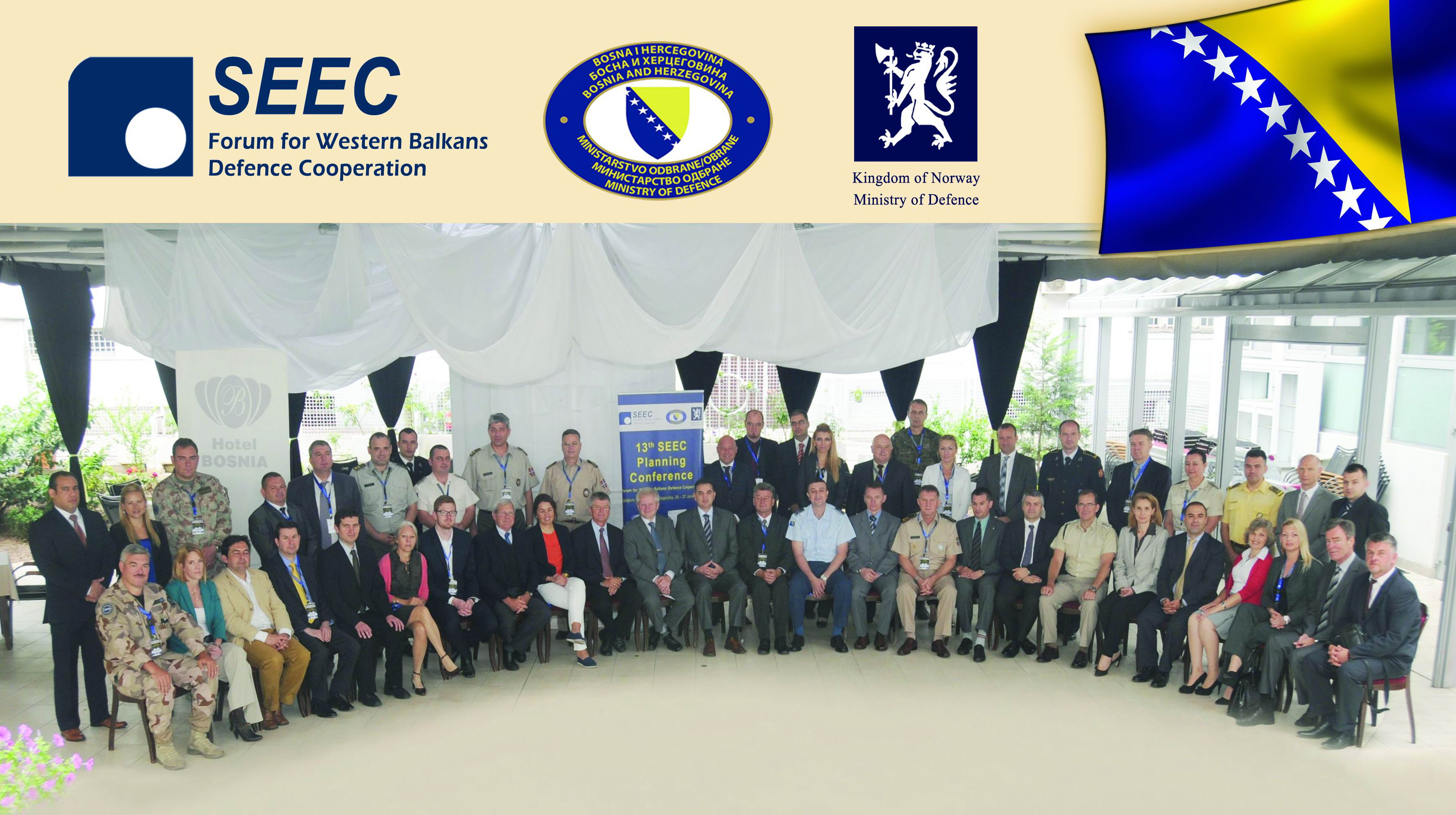 Cooperation of the countries of Western Balkans in defence