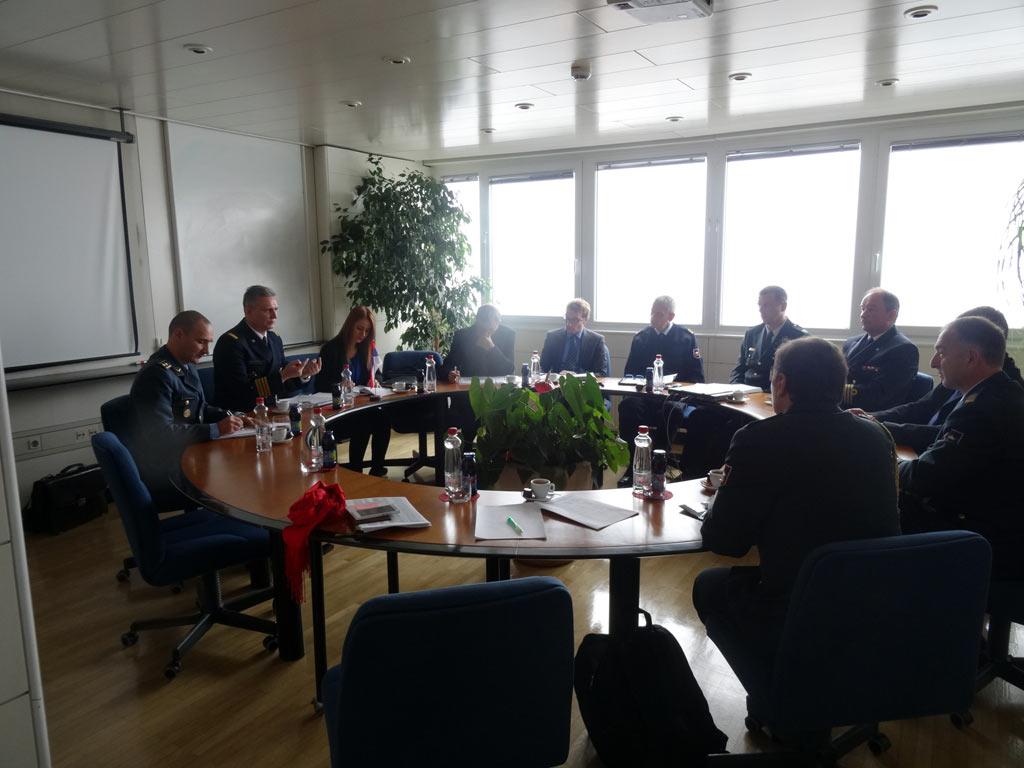 Билатералне одбрамбене консултације са Словенијом