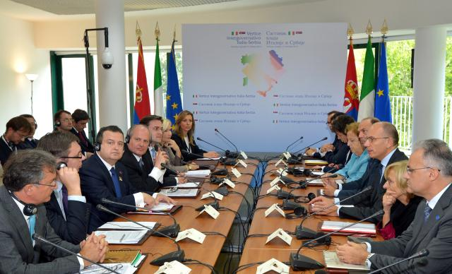 Support for the European course of Serbia is priority of Italian Foreign Policy