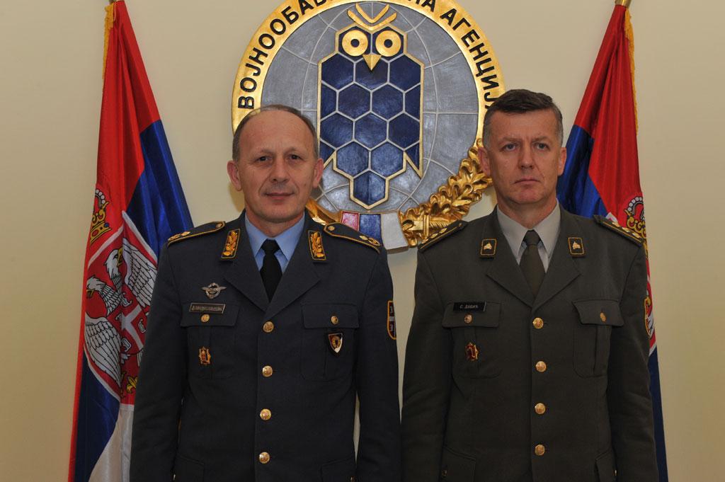 Примопредаја дужности у Војнообавештајној агенцији