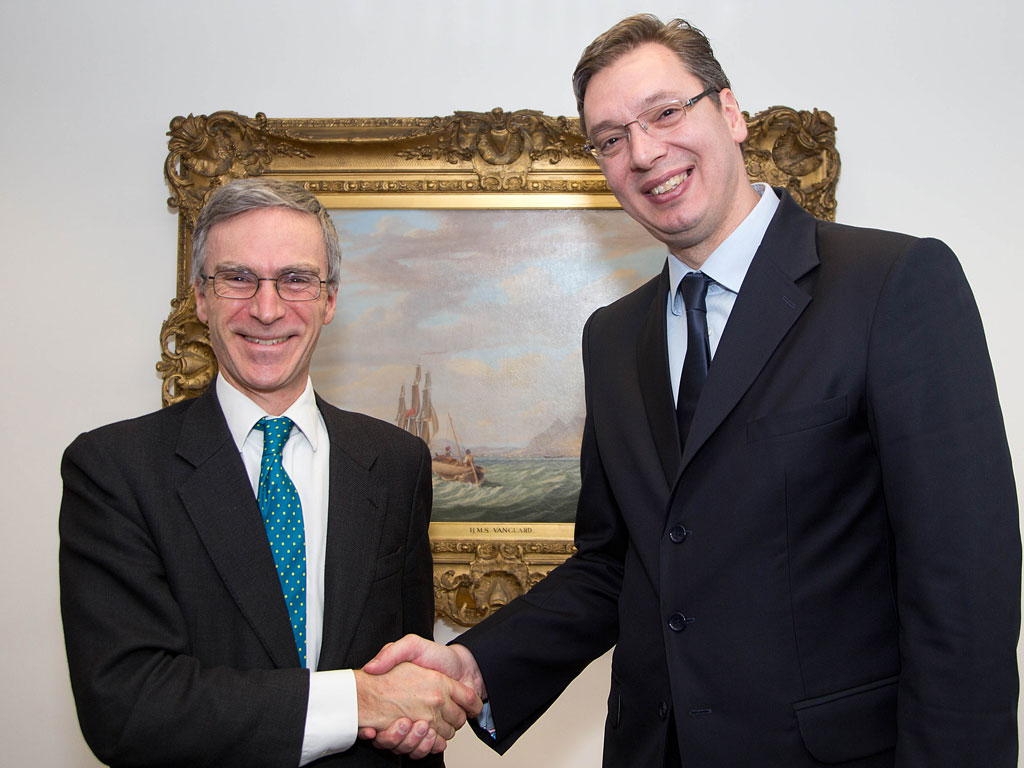 Enhancing cooperation with Great Britain