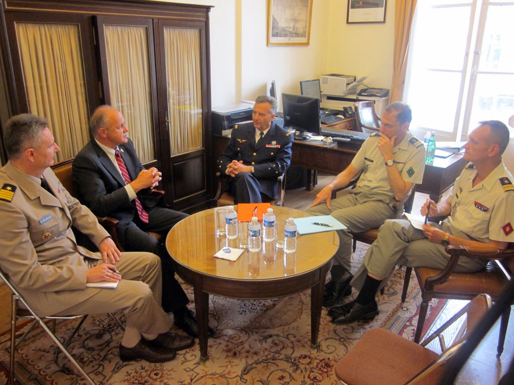Bilateral defence consultations in France