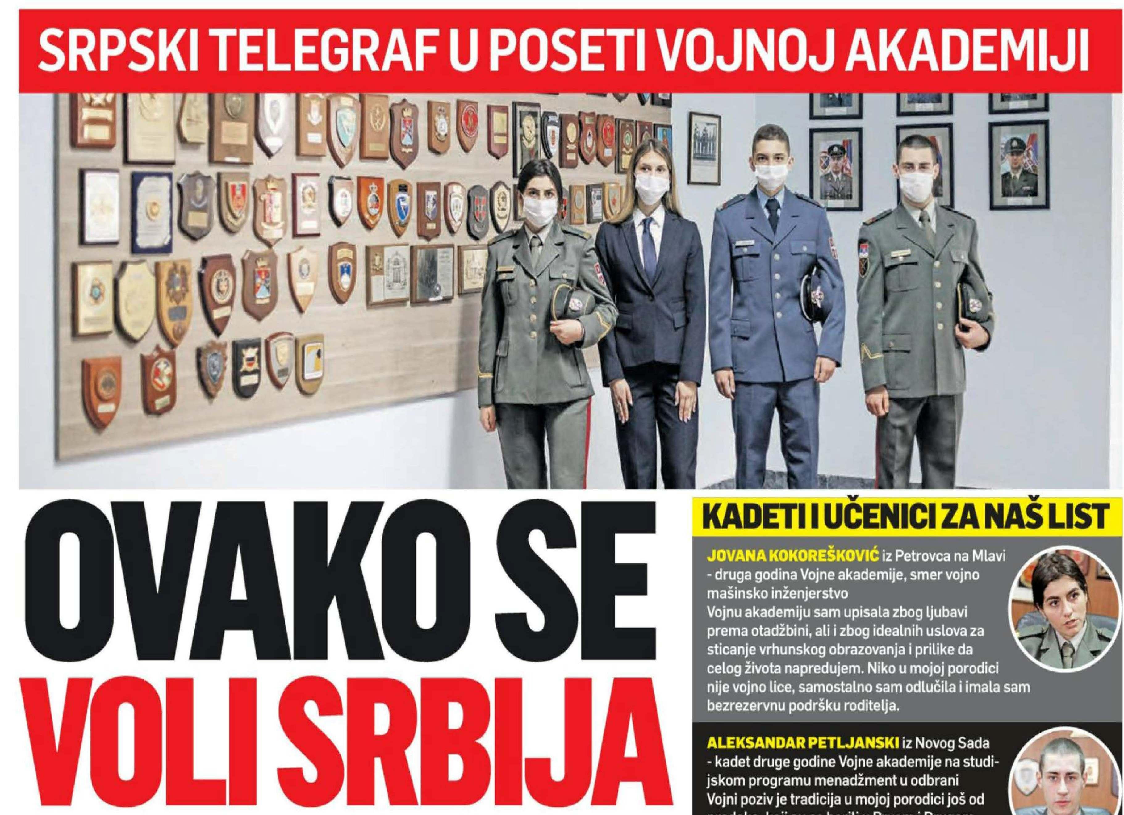 Српски телеграф Овако се воли Србија