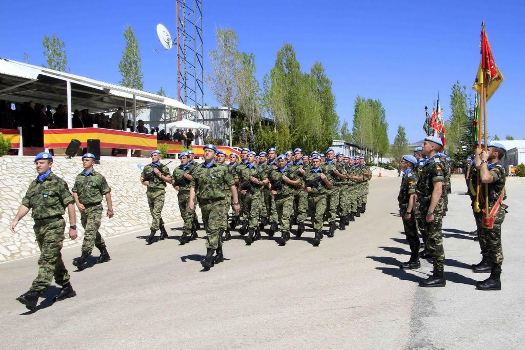 Медаље мировњацима Војске Србије у Либану