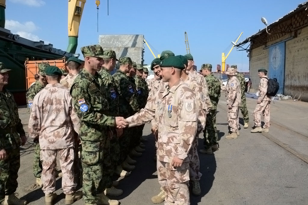 Serbian team takes over the duty in mission Atalanta